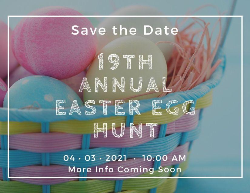 19th Annual Easter Egg Hunt